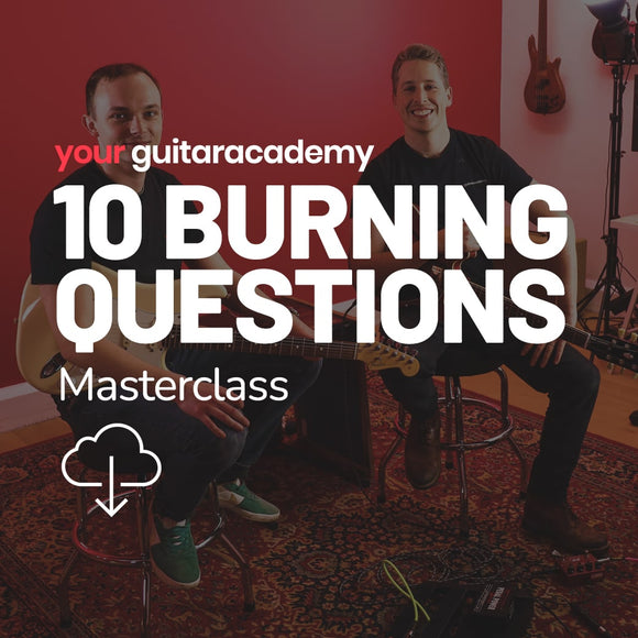 10 Burning Questions Masterclass