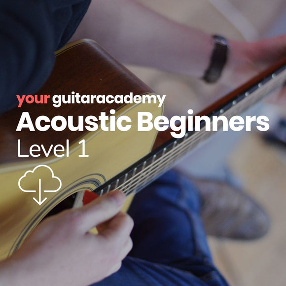 Acoustic Beginners Level 1
