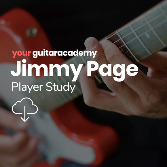 Jimmy Page Player Study