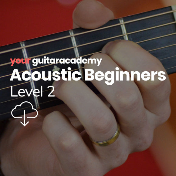 Acoustic Beginners Level 2
