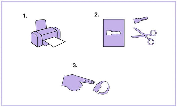 Do it Yourself Paper Ring Size
