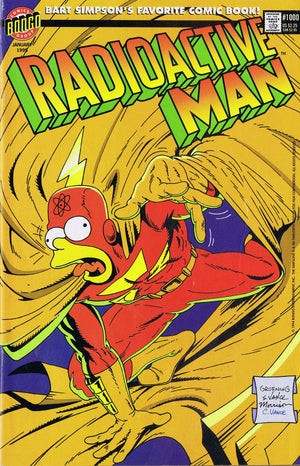 RADIOACTIVE MAN #1000 IN HIS OWN IMAGE - SIMPSONS COMICS