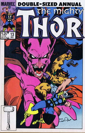 MARVEL COMICS - THE MIGHTY THOR (1962-1996) Annual #13