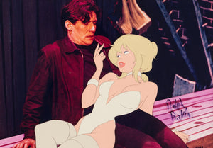 SIGNED Cool World Holli Would Limited Edition Cel #AP Signed by Ralph Bakshi (Paramount Pictures, 1992) - The Cricket Gallery