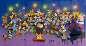 Hanna & Barbera - Symphony of the Stars - Signed, Hand Painted, Limited Edition Cel