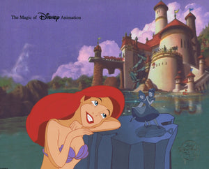 Little Mermaid Ariel The Magic of Disney Animation Limited Edition Cel - The Cricket Gallery