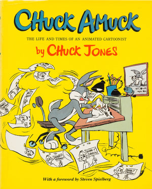 Signed CHUCK JONES LIMITED EDITION Warners Bugs Bunny Chuck Amuck 1989 #347/750 - The Cricket Gallery