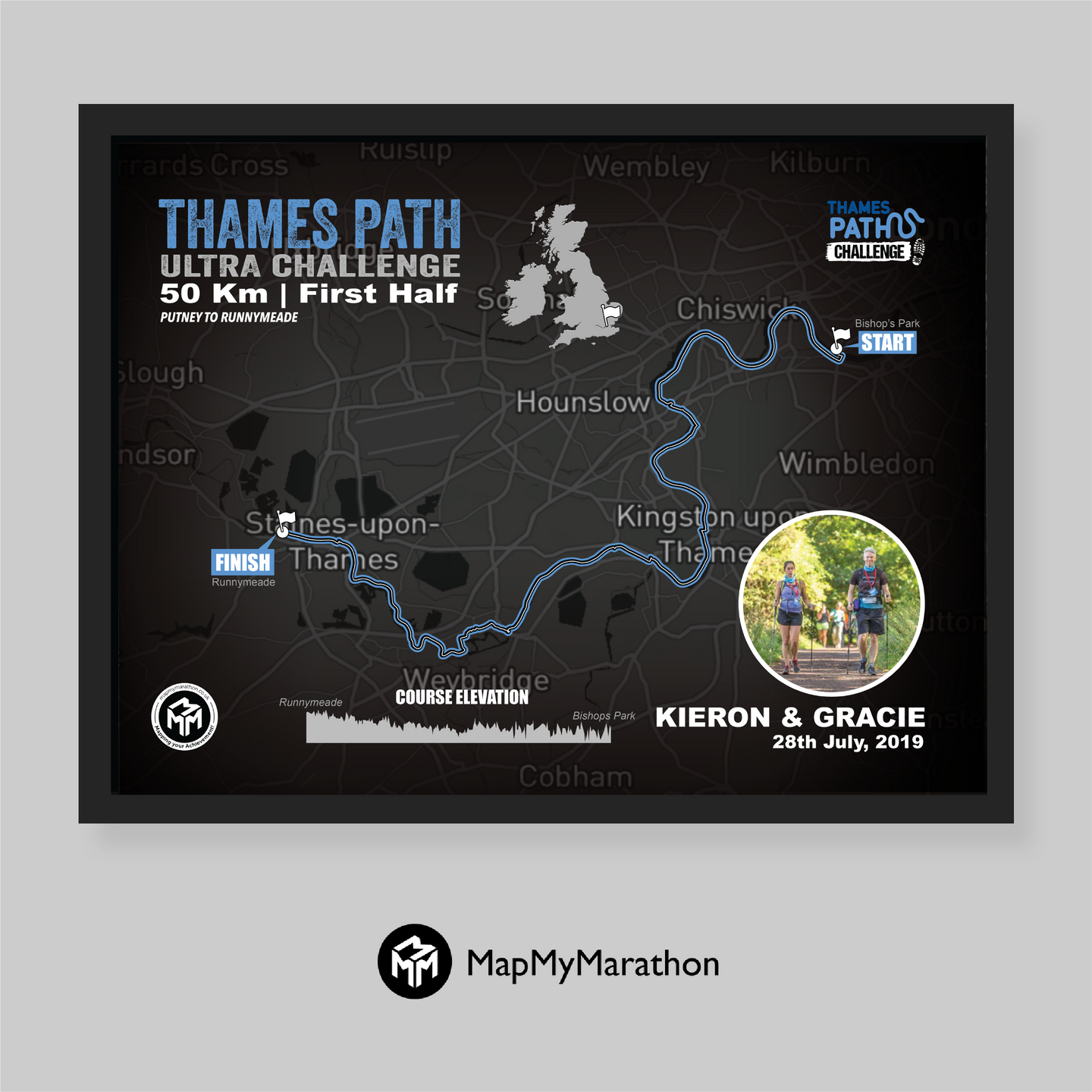 Thames Path Ultra Challenge - First Half