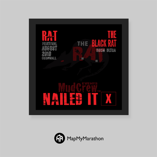 The Black Rat Medal Box (Black)