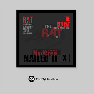 The Red Rat Medal Box (Black)