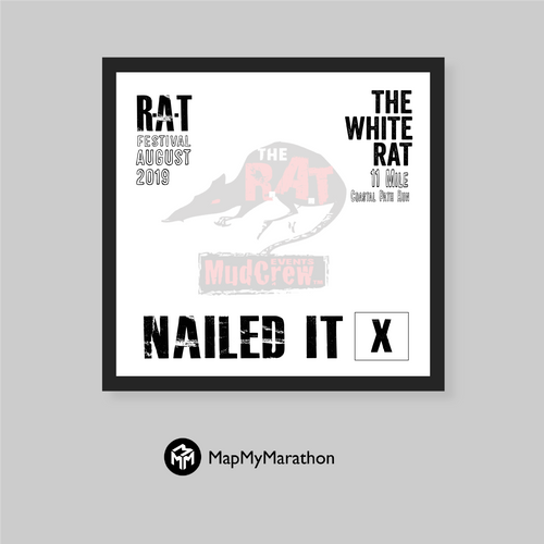 The White Rat Medal Box (White)