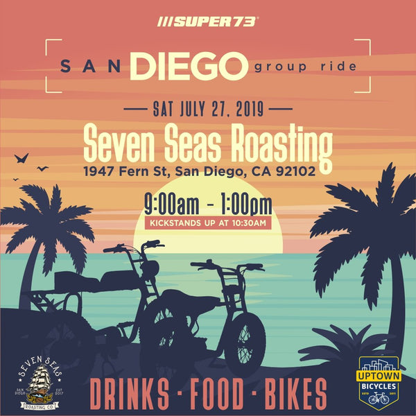 Super73 Group Ride: San Diego