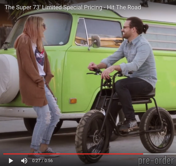 VIDEO: Electrify your life - Super 73'