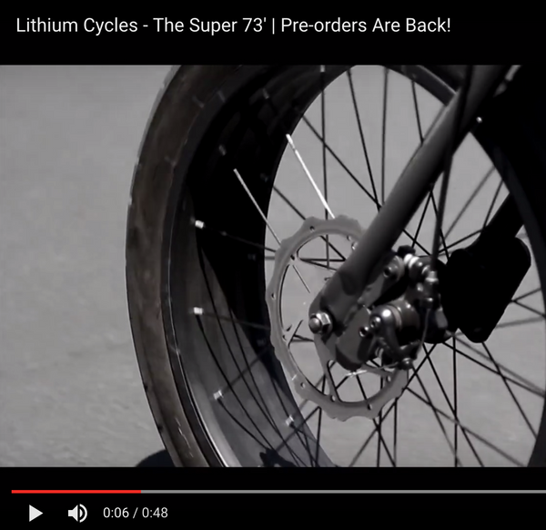 Lithium Cycles - Super 73' | Pre-orders Are Back!