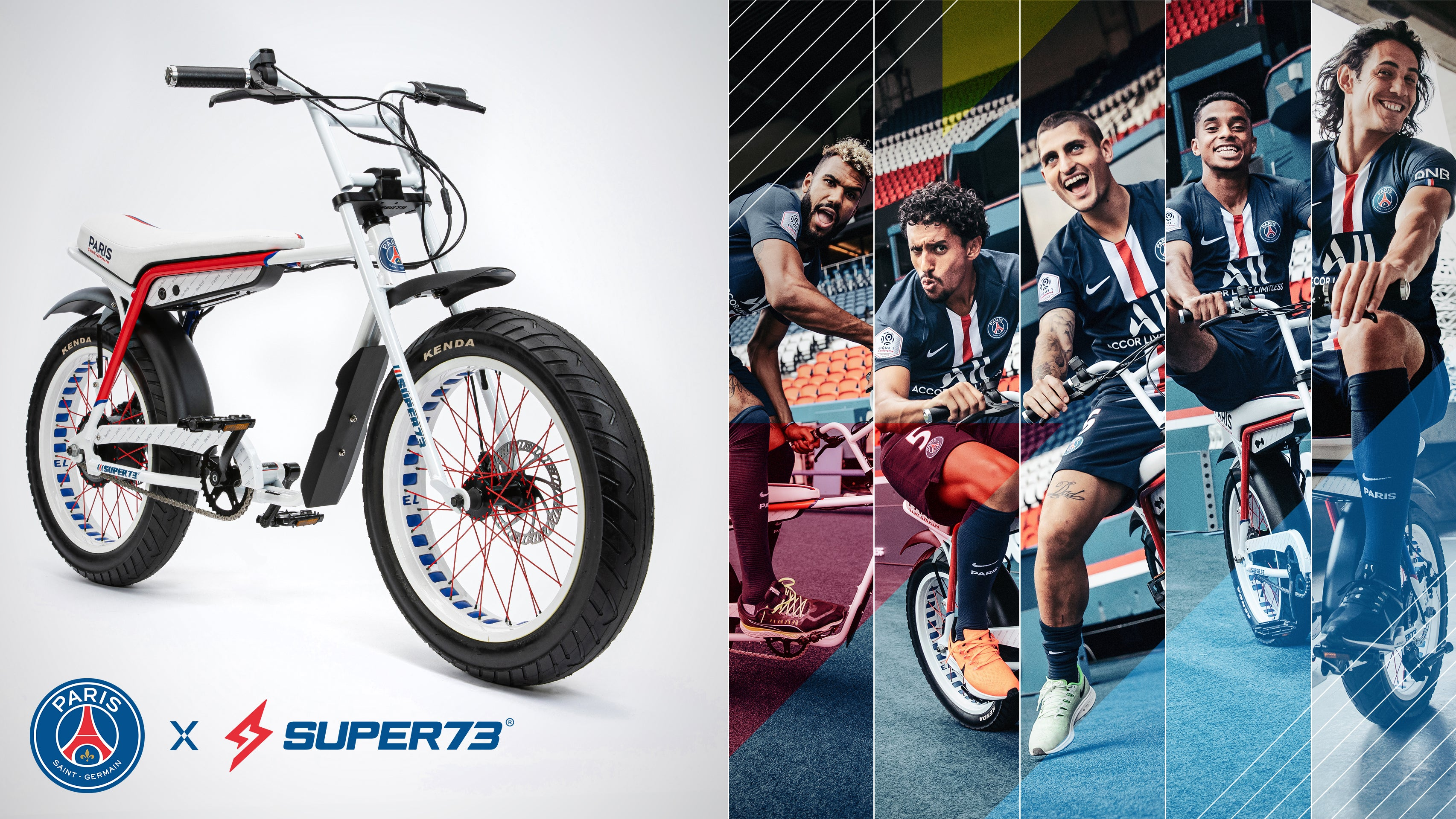 Paris Saint-Germain x Super73