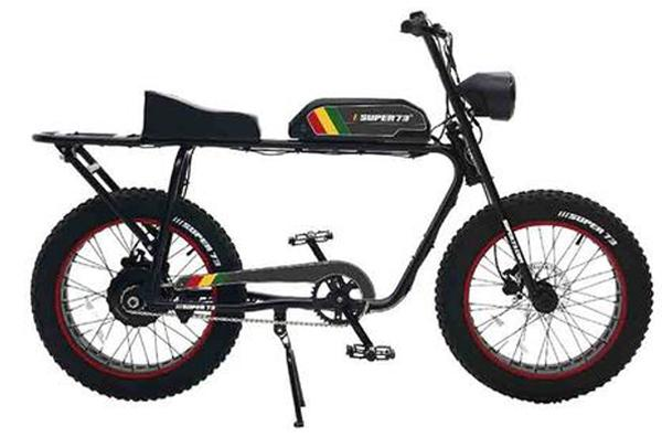 "Kit de décalcomanie SUPER73 ""Rasta"""