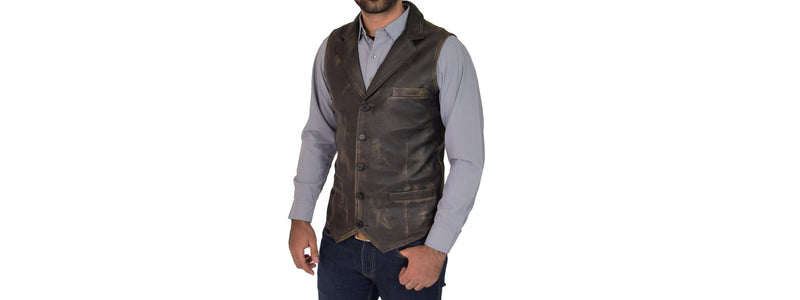 Breaking the Misconceptions of the Mens Leather Waistcoat