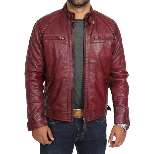 Mens Biker Leather Jackets
