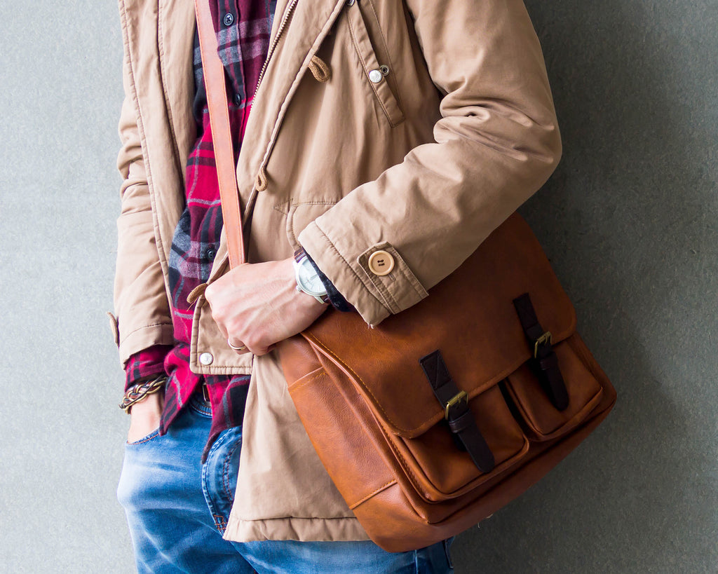 mens leather bag briefcases and messenger satchels