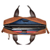 leather bag with a laptop compartment