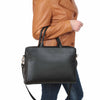 leather work bag for womens