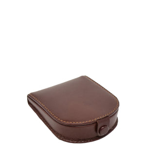 Horse Shoe Luxury Leather Coins Wallet HOL5RT Brown