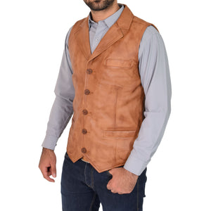 button fastening waist coat
