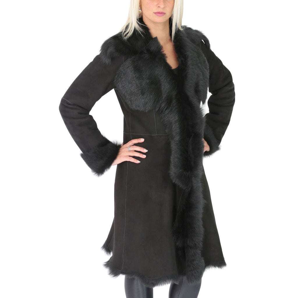 ladies real toscana coat
