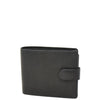 Mens Wallet with a Buckle Closure Hawking Black 1