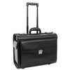 Exclusive Leather Pilot Case Laptop Bag Chester Black