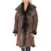 ladies toscana fur coat