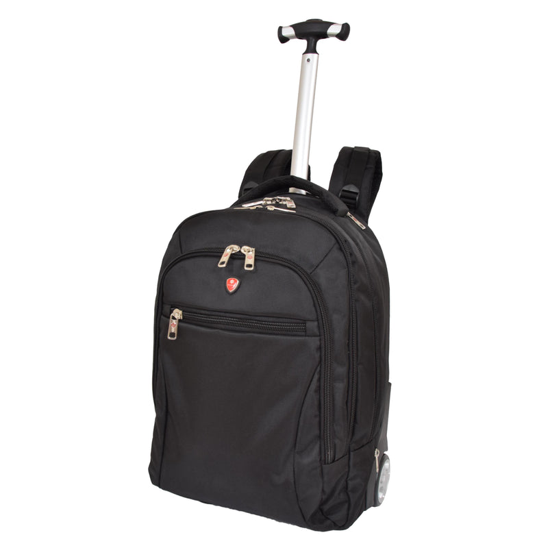 Cabin Size Backpack with Wheels H15 Black