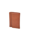 Trifold Leather Keys Wallet HL8711 Brown 1