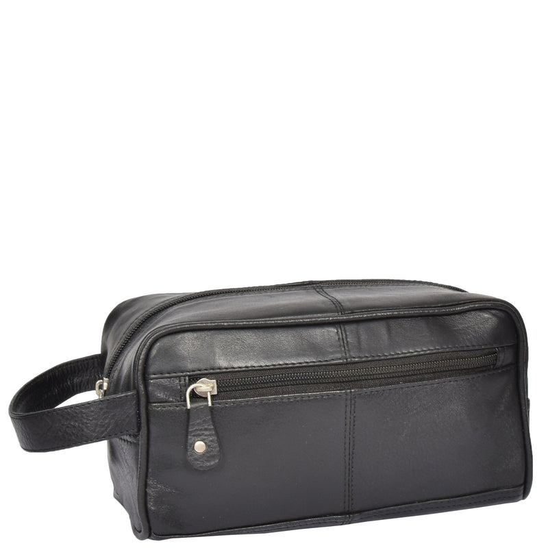 leather toiletries kit