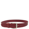 leather belt for mens with five adjustment holes