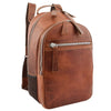 Large Classic Casual Leather Backpack Palermo Tan