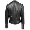 Womens Leather Biker Brando Jacket Kate Black 1