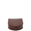 Horse Shoe Luxury Leather Coins Wallet HOL5RT Brown 2