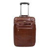 Exclusive Leather Cabin Size Suitcase Kingston Brown 2