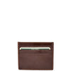 Premium Leather Card Holder Venice Brown 1