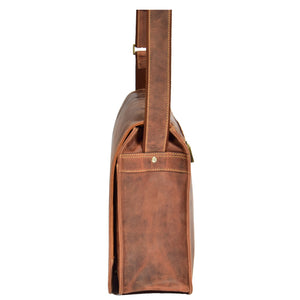 mens leather a4 size bag