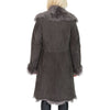 3/4 length shearling coat