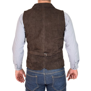 gilet with an adjustable back belt