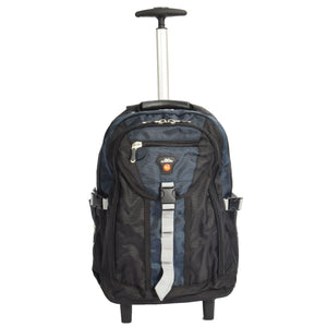 hiking backpack in blue