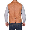 buckle adjuster gilet for men's
