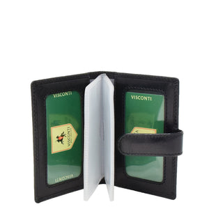 Wallet with Removable Card Sleeves Sao Black 3
