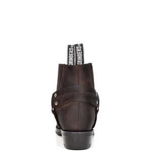 ankle length leather shoes