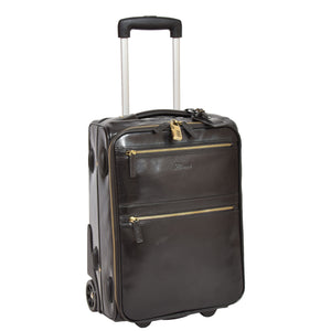 leather cabin luggage