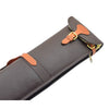 Leather Gun Slip with Shoulder Strap Carlisle Brown/ Tan 2