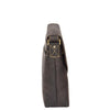 mens leather bag with an adjustable shoulder strap
